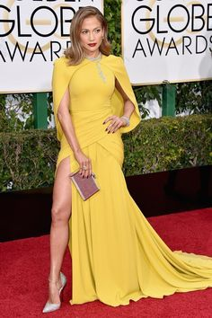 J. Lo in Giambattista Valli at the Golden Globes