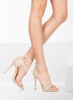 Sandałki Innocence Nude Heeled Sandals