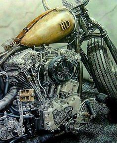 Harley Davidson News – Harley Davidson Bike Pics Motos Harley Davidson, Custom Bobber, Custom Harleys, Motorcycle Art, Bike Art, Chopper Motorcycle, Bobber Chopper, Motorcycle Quotes, Vintage Motorcycles