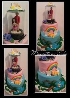 Daddy/Daughter Birthday Celebration Cake