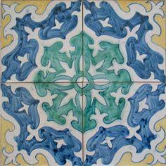 16th century Portuguese reproduction tiles