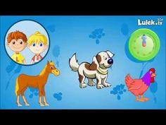 Pomyśl i kliknij - Odgłosy zwierząt - Zwierzęta domowe - Gra dla dzieci - cz.1…
