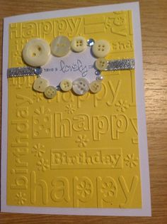 Handmade birthday card by MissyLiss