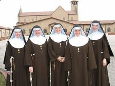 Poor Clare Nuns, a cloistered contemplative order, Franciscan