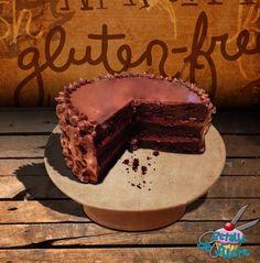 Fudge cake sin gluten y sin azúcar - receta modificada de Alma Obregón