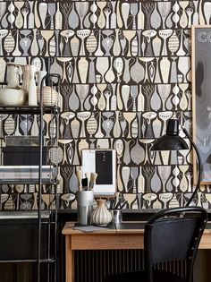 Shop our entire range of quirky and unique wallpapers to find statement wallpaper to compliment any interior decor style. Unique Wallpaper, Print Wallpaper, Modern House Philippines, Stig Lindberg, Rockett St George, Arne Jacobsen, Designer Wallpaper, Scandinavian Design, Retro