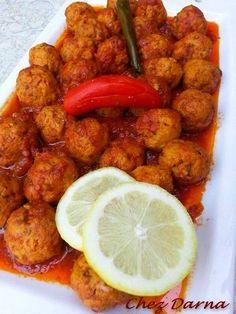 Tajine of Sardine Balls Seafood Recipes, Cooking Recipes, Healthy Recipes, Restaurant Recipes, Morrocan Food, Sardine Recipes, Middle East Food, Fish And Meat, Ramadan Recipes