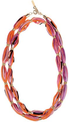 Missoni Necklace in Orange