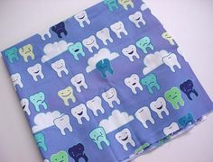 tooth patterned fabric