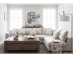 HORIZON - Modular sectional sofa - Beige