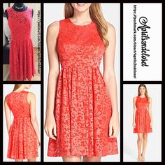 """❗️1-HOUR SALE❗️A Line Dress Fit-And-Flare NEW WITH TAGS  RETAIL PRICE: $148  Plenty by Tracy Reese Short Shift Dress eyelet A-line    * Fit-and-flare style w/back zip closure   * Floral embroidery eyelet crochet ;Lined   * Semi-flared skirt  * Measure about 38"""" long; Tagged size 10 (M), will approx fit sizes 8-10  * Scoop neck front  * Vintage style Fabric:50% Nylon & 50% Polyester Color: Begonia Item94400  No Trades ✅ Offers Considered*/Bundle Discounts✅  *Please use the 'offer' button to…"""