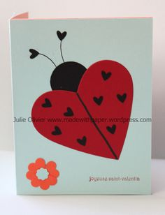 Carte St-Valentin This is a perfect craft for children. It's a fun pop-up card that you can easily do with the Big Shot and Framelits or simply cut with scissors. If you use the Big Shot and Heart Framelits, y… Happy Birthday Valentines Day, Pop Up Valentine Cards, Saint Valentine, Valentines For Kids, Valentine Crafts, Valentine Ideas, Punch Art Cards, Pop Up Cards, Valentine's Cards For Kids
