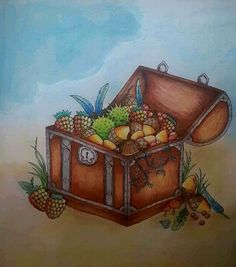 Treasure Chest Johanna BasfordPrismacolorColoring BooksBook