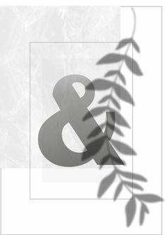 Monogram Poster Leaf Initial Print Personalised Letter | Etsy Typography Prints, Lettering, Letter Wall Art, Digital Image, Digital Prints, Initials, Monogram, Art Prints, Artwork