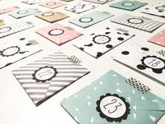 ≡ { Calendrier de l'Avent pour les Grands : le kit complet ! } | Kids Calendar, Countdown Calendar, Diy Advent Calendar, Print Calendar, Advent Calendars, Noel Christmas, Christmas Countdown, Christmas Crafts, Planner Stickers