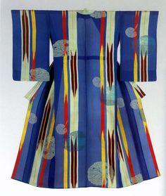 Kimono, 1920-1930's. Montgomery Collection.