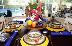 Christine's Home and Travel Adventures: Bunnies Hopped on My Polish Pottery