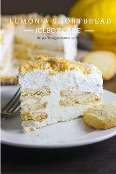 Lemon & Shortbread Icebox Cake