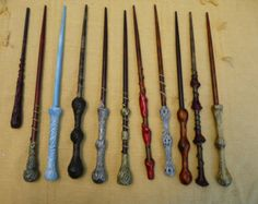 Universal wand shop walking sticks and wands pinterest for Wooden elder wand for sale