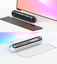 (click in photo for watch now) The best tips! New Technology Gadgets, High Tech Gadgets, Computer Setup, Desk Setup, Mac Book, Accessoires Ipad, Apple Desktop, Hardware Components, Home Office Setup