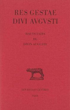 Source: Res Gestae divi Augusti. Hauts faits du divin Auguste Auguste, Movie Posters, Roman, Greek Words, Tops, Film Poster, Billboard, Film Posters