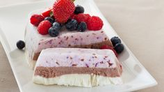 Frozen Yogurt Layer Cake