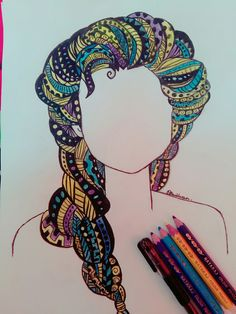 I saw this on pinterest and try to draw it myself...check video on how i draw it on my youtube channel...thank youu guysss