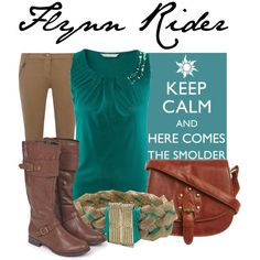 "Flynn Rider ""here comes the smolder"" would be cute on a t-shirt Disney Inspired Outfits, Disney Outfits, Disney Style, Disney Fashion, Flynn Rider, Cool Style, My Style, Disneybound, Pure Products"