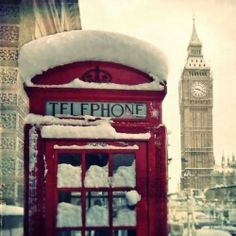 Great shot of London during winter