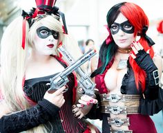 Comic Con Cosplay Gallery - Harley Quinn
