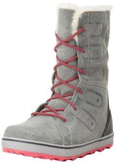 Sorel Women's Glacy Lace Snow Boot,Cast/Black,7.5 M US Sorel