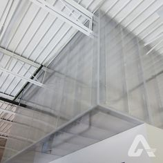 Polycarbonate walls work well to provide privacy or conceal unsightly equipment Commercial Interiors, Tile Floor, Walls, Flooring, Decor, Decoration, Tile Flooring, Wood Flooring, Decorating