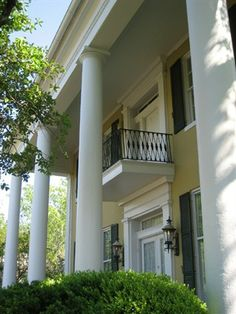 I love this Historic Antebellum home in Vicksburg. The town, National park of the civil war seige and riverfront are worth a visit