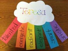 Positive Affirmation Rainbow
