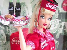 Coca Cola Barbie restyled