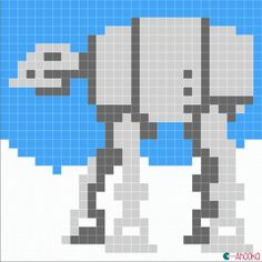 ATAT Star Wars free chart by ahooka