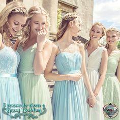 Bridesmaid Dresses by Kelsey Rose British Wedding Dresses, Dream Wedding Dresses, Designer Wedding Dresses, Wedding Gowns, Wedding Blog, Pastel Bridesmaid Dresses, Bridal Dresses, Kelsey Rose, Ellis Bridal