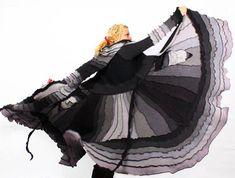 Rekonstruierte Pullover Mantel TUTORIAL von Katwise von katwise
