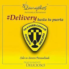 Haz tu pedido con TAXIWEB te ofrece servicio SEGURO RÁPIDO Y DE CALIDAD para información http://www.taxiweb.com.ve y por (0286)4155603 - (0424)9491261 - (0424)9181269 en Puerto Ordaz #SencillamenteDelicioso #envios #entrega #DELIVERY #desayuno #almuerzo #cena #Guayana #PZO