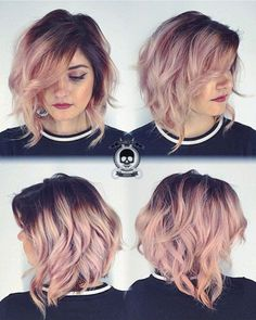 Rose Gold Hair Ideas 3511