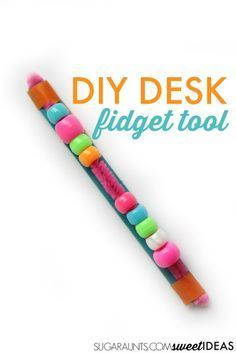 Make this DIY fidget tool for use in the classroom or at home while writing and…