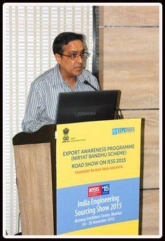 Mr. Arun Kumar Garodia Regional Chairman, EEPC India (ER) delivering the welcome address.