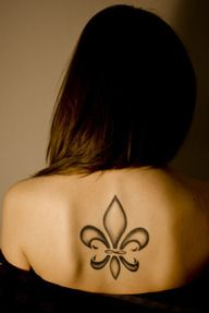 Back-Fleur-De-Lis-Tattoo-Fleur-De-Lis-Tattoo - fleur de lis tattoos
