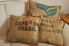Zestaw 3 poduszek Cafe de Brasil - sielskiewzgorze - Poduszki