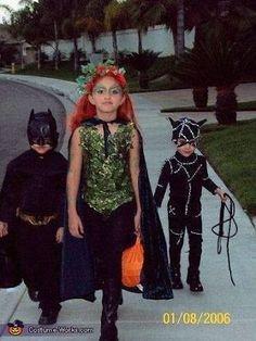 Image result for kids poison ivy costume diy