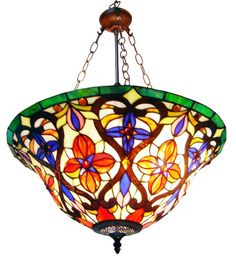 i love stained glass lamps ...and this tiffany lamp is beyond beautiful