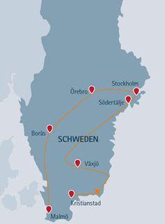 Fjell und Fjord: Schweden für Einsteiger - fjell-und-fjord.de Fjord, Short Trip, Roadtrip, Travel Goals, Travel Tips, European Travel, Camping Hacks, Trekking, Travel Around