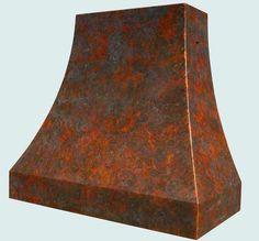 Copper  Range Hood  # 3830