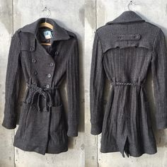 Marciano sweater coat grey In great condition Marciano Jackets & Coats