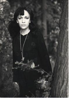 1963 FOT. TADEUSZ ROLKE. Ewa Demarczyk.